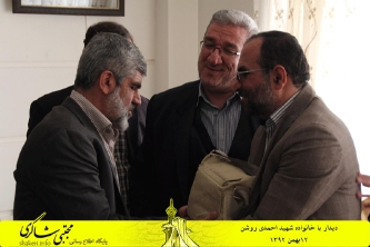 دیدار با خانواده شهید احمدی روشن_8