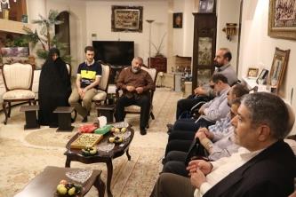 دیدار با خانواده شهید احمد حاتمی دانشمند فضایی ایران