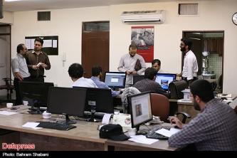بازدید مجتبی شاکری از خبرگزاری دفاع مقدس