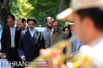 آیین رونمایی از پلاک نامگذاری کوچه شهید مدافع حرم مرتضی کریمی